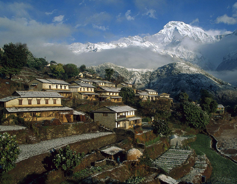 Home stay tourism in Nepal