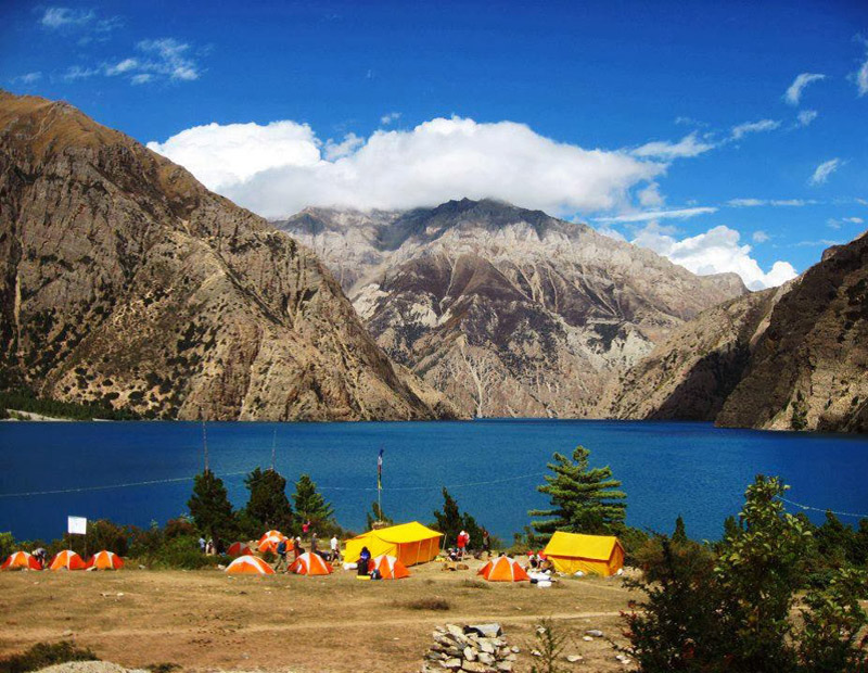 Phoksundo Lake Lodge Trek