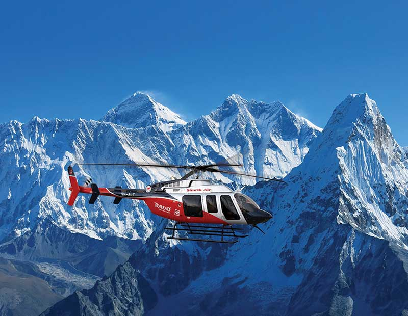 Himalaya Helicopter Expedition
